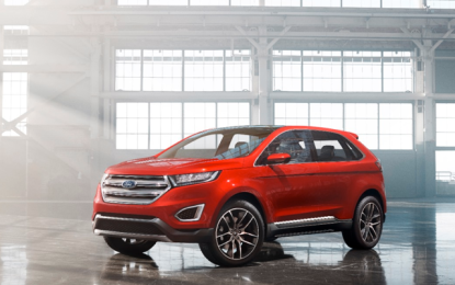 Ford Edge Concept Breaks Cover in Europe