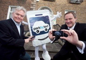 Jim-Moore-CEO-of-parkbytext-Mr-Parker-and-Managing-Director-Jason-Ballard-at-the-new-app-launch-in-Dublin-today