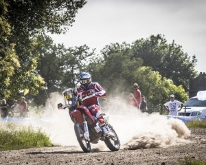 Barreda seals first Team HRC double in the Dakar 2015