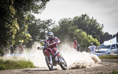 Barreda seals first Team HRC double in the Dakar 2015