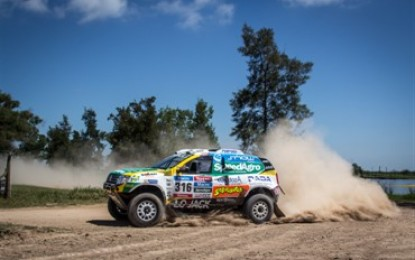 Renault Duster Team already in the top 5 at Dakar Rally