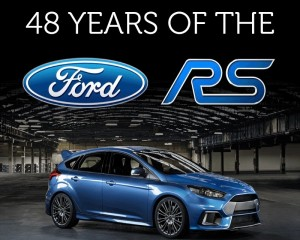 Infographic – 48 years of Ford RS