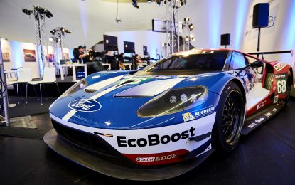 48 hours non-stop driving Ford GTs on Forza Motorsport 6