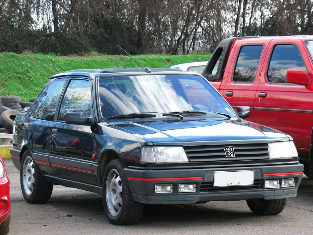 Peugeot 309 GTi from 1990