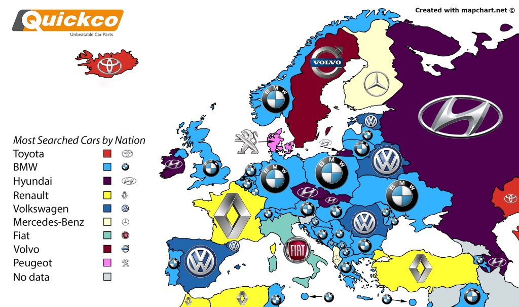 FleetCar.ie Toyota most googled car brand worldwide; Hyundai takes ...