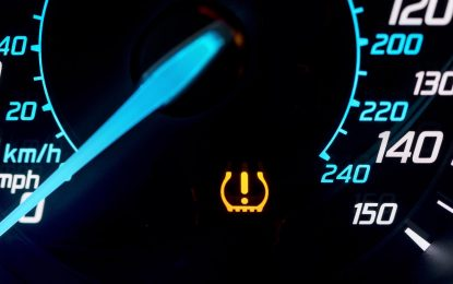Drivers ignoring TPMS tyre warnings