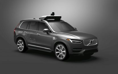 Volvo Cars to supply autonomous drive compatible cars to Uber