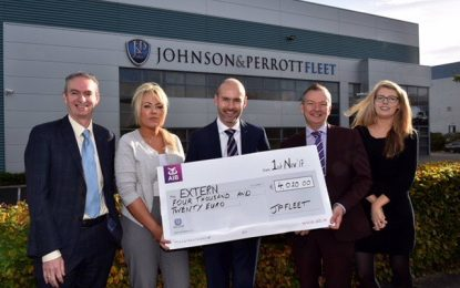 Fleet management firm raises funds for leading social justice charity