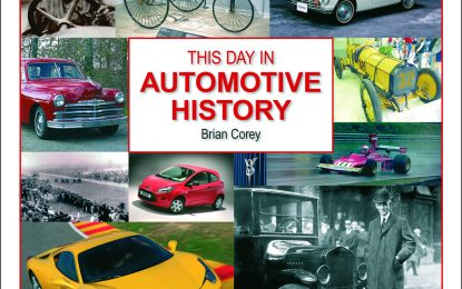 Book Review: This day in Automotive History by Brian Corey