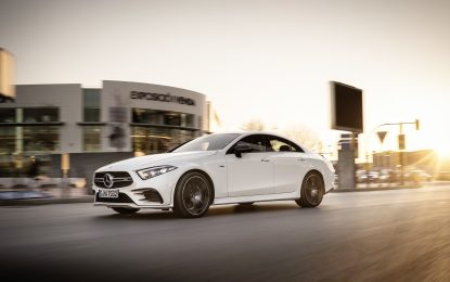 New Mercedes-Benz CLS goes on sale