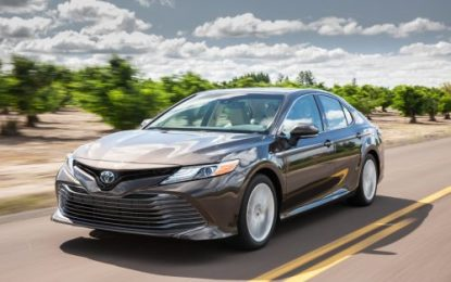 Toyota Camry Returns to Ireland