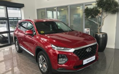 All New Hyundai Santa Fe now available in Hyundai Dealerships nationwide