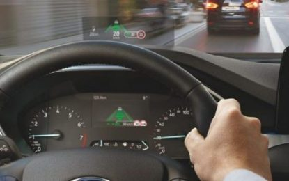 Blinded by Glare or Blind to Display? Fighter Jet Tech for Ford Focus Solves Problem