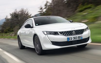 Peugeot reinvents the 508
