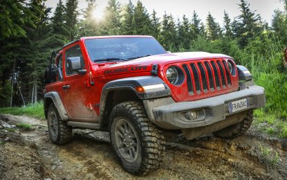 New Jeep Wrangler on the way