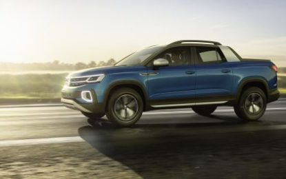 Volkswagen Tarok Concept: Next-generation Pick-up