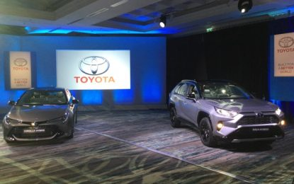 High Five from Toyota with 5 new low emission hybrid cars for 2019